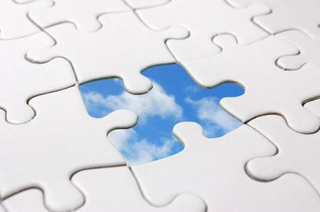 Sky jigsaw  photo