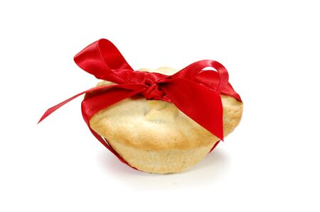 mince: Mince pie  Stock Photo