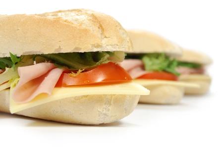 csemege: Sub sandwiches