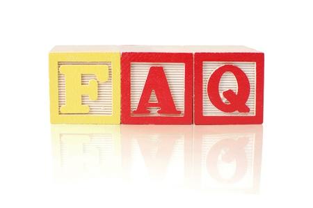 faq's: FAQs