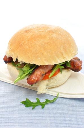 Sausage roll Stock Photo - 9261145