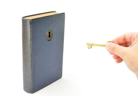 Unlocking knowledge  Stock Photo