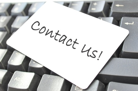 Contact us Stock Photo - 10507095