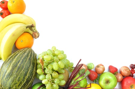 fruit and vegetables: Fruit  Stock Photo