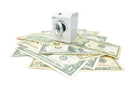 Money laundry  photo