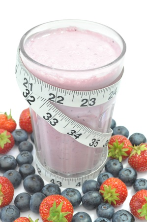 berry smoothie: Smoothie