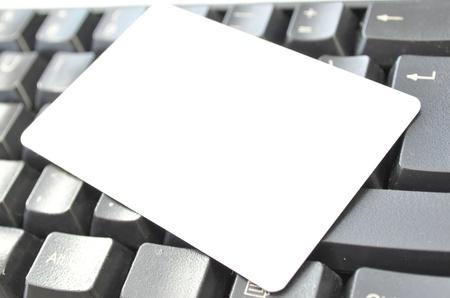 Blank card Stock Photo - 10618694