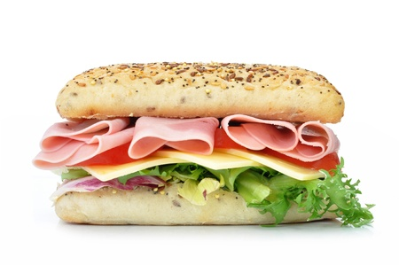sandwich: Sub sandwich  Stock Photo