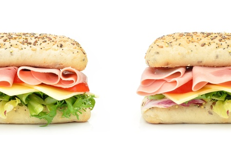 Deli: Sub sandwich baguette