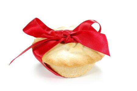 mince pie: Christmas mince pie  Stock Photo