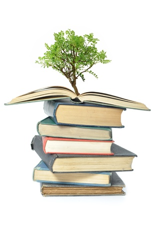 knowledge tree: Tree growth from books
