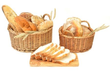 canasta de pan: Pan