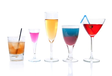 Various cocktails  photo