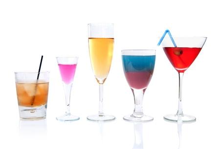 Various cocktails  photo