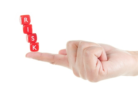 managing: Risk management Stock Photo
