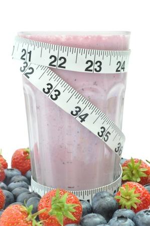 Fruit smoothie diet  photo