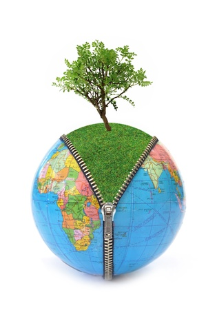changing: Environmental concept
