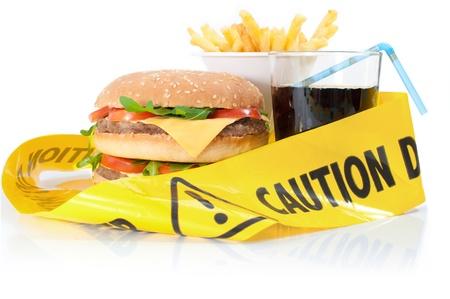 comida chatarra: Cuidado los alimentos poco saludables