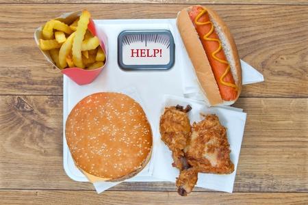Fast food diet  photo