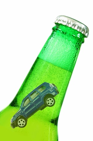 drinking driving: Drink driving concept