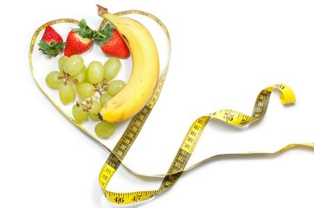 shaped: Heart tape measure