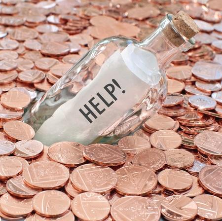 british money: Financial crisis help