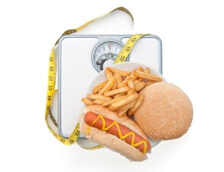 weighing scales: Dieta Bad bilance Archivio Fotografico