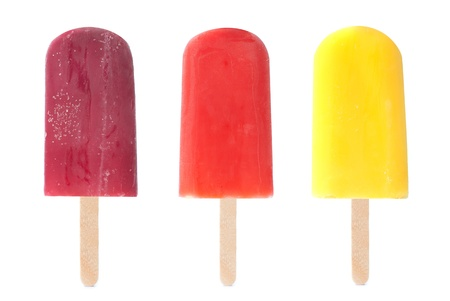 Ice lollies Stock Photo