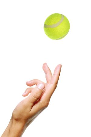 to toss: Tennis