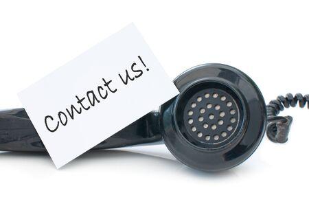 Contact us Stock Photo - 14395803