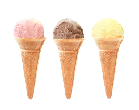 Ice cream cones  photo