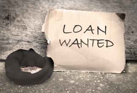 Bank loan concept  photo