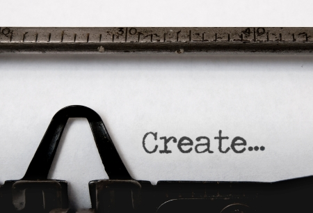 the typewriter: Crear