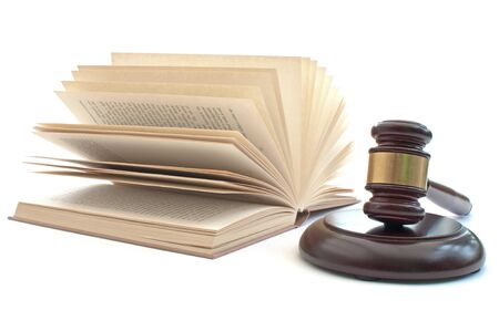 solicitors: Gavel and book