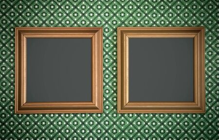 Vintage picture frames Stock Photo - 15581447