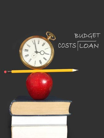 Education budget  Stock Photo - 15580257