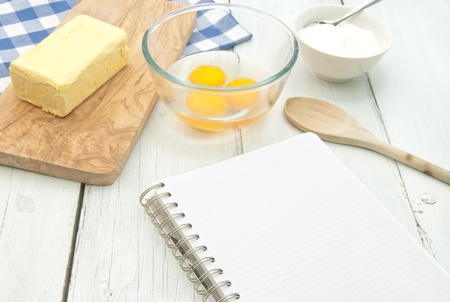 Recipe  Stock Photo - 15580305