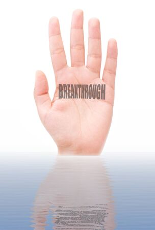 Breakthrough  Stock Photo - 15713082