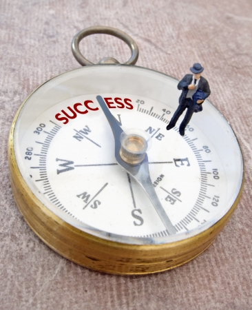 Business compass Stock Photo - 15713083