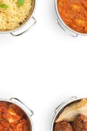 curry dish: Curry background menu