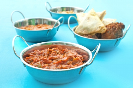 Curry meal Stock Photo - 15998081