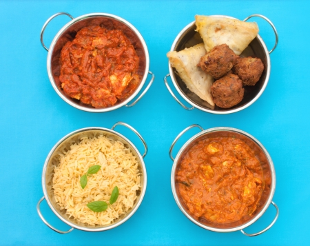 Curry dishes Stock Photo - 15998092