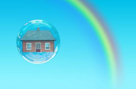 House bubble Stock Photo - 15998119
