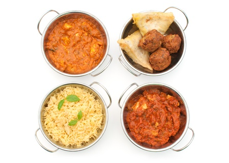 Curry dishes Stock Photo - 15998082