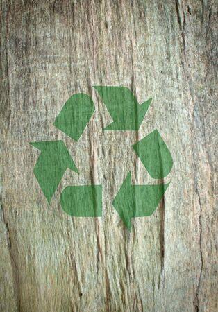 Recycle symbol  Stock Photo - 15998094