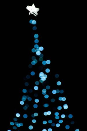 Christmas tree lights Stock Photo - 16233694