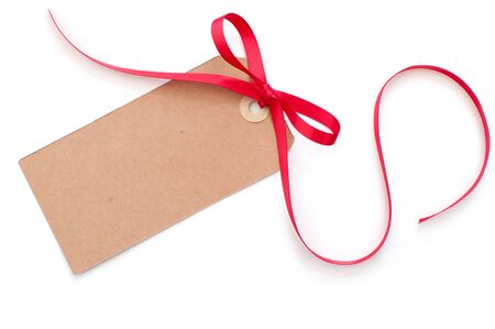 Blank gift tag Stock Photo - 16233702