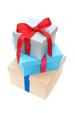 Gift boxes Stock Photo - 16401316