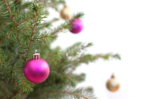 Christmas baubles  Stock Photo - 16492231