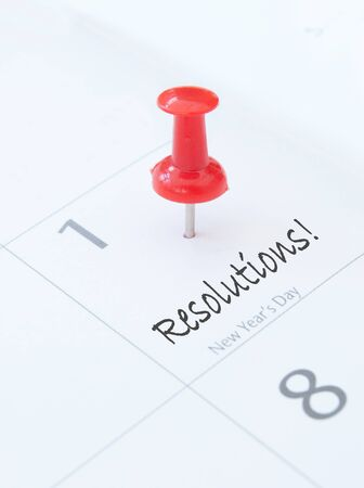 New year resolutions Stock Photo - 16604102